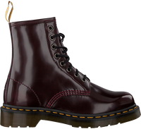 Rode DR MARTENS Veterboots 1460 VEGAN  - medium