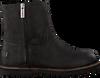 Zwarte SHABBIES Enkellaarsjes 181020150 - small