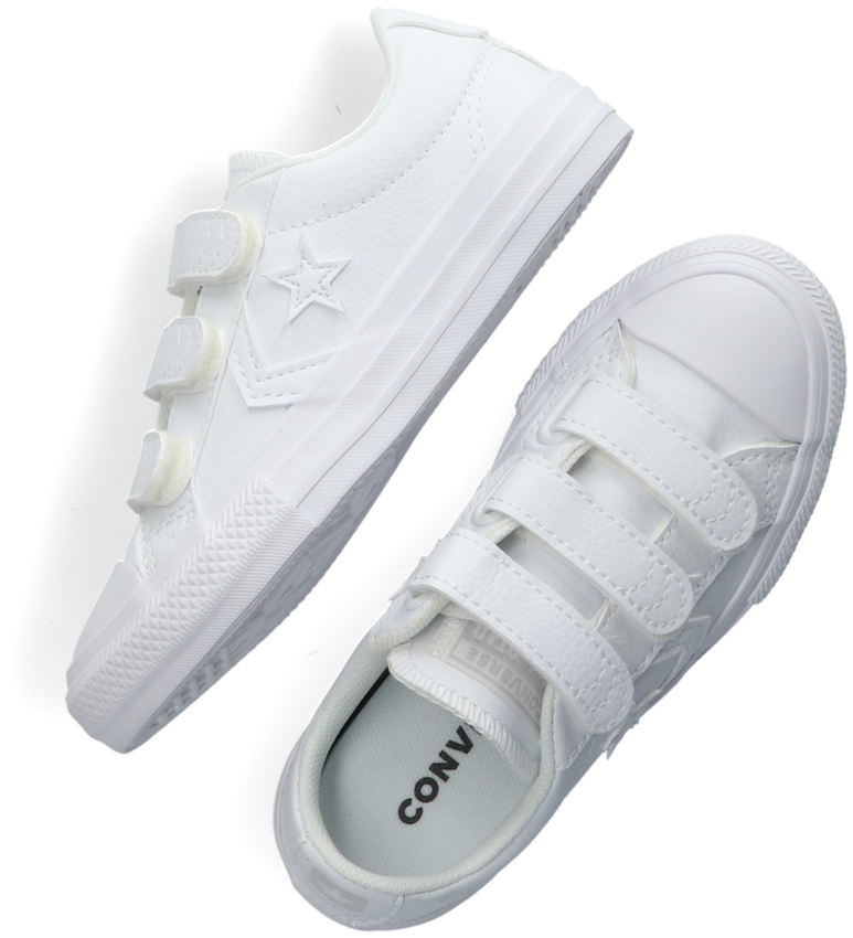 Witte CONVERSE Sneakers STAR PLAYER EV 3V OX KIDS - larger