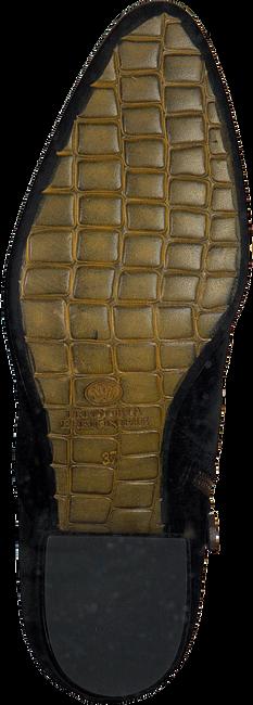 Zwarte FRED DE LA BRETONIERE Enkellaarsjes 183010050 - large