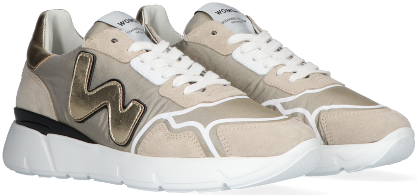 Beige WOMSH Lage sneakers RUNNY  - larger