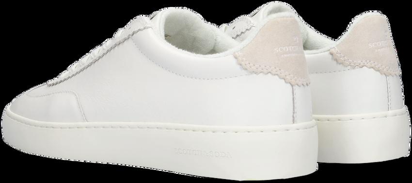 Witte SCOTCH & SODA Lage sneakers PLAKKA  - larger
