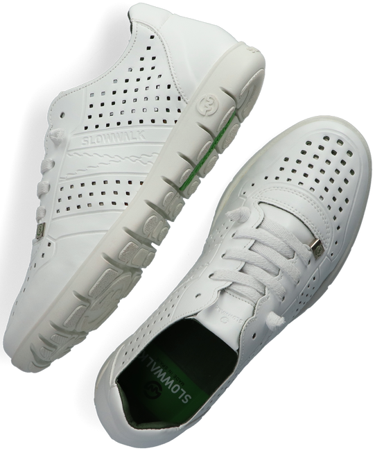 Witte SLOWWALK Lage sneakers MORVI  - large