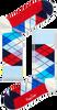 Blauwe HAPPY SOCKS Sokken AR01 - small