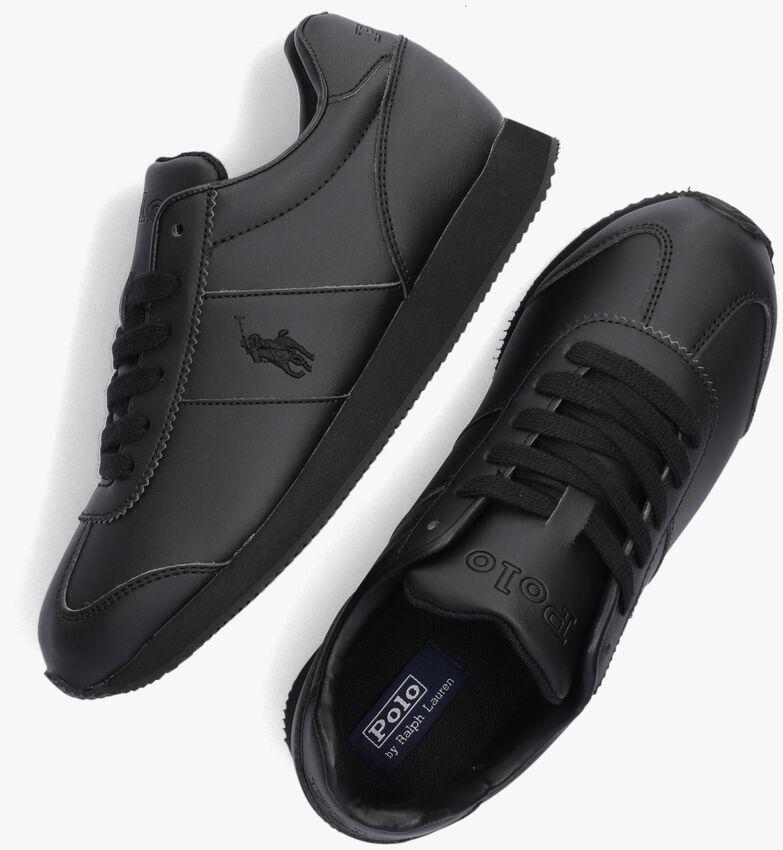 Zwarte POLO RALPH LAUREN Lage sneakers PONY JOGGER  - larger