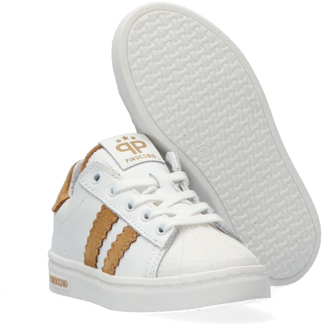 Witte PINOCCHIO Lage sneakers P1834  - large