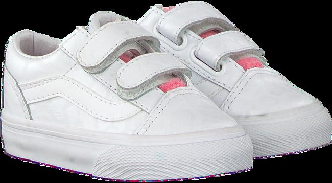 Witte VANS Sneakers TD OLD SKOOL V WHITE GIRA  - large
