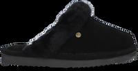 Zwarte WARMBAT Pantoffels LISMORE  - medium