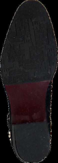 Zwarte TOMMY HILFIGER Enkellaarsjes BUCKLE MID HEEL BOOT LEATHER - large