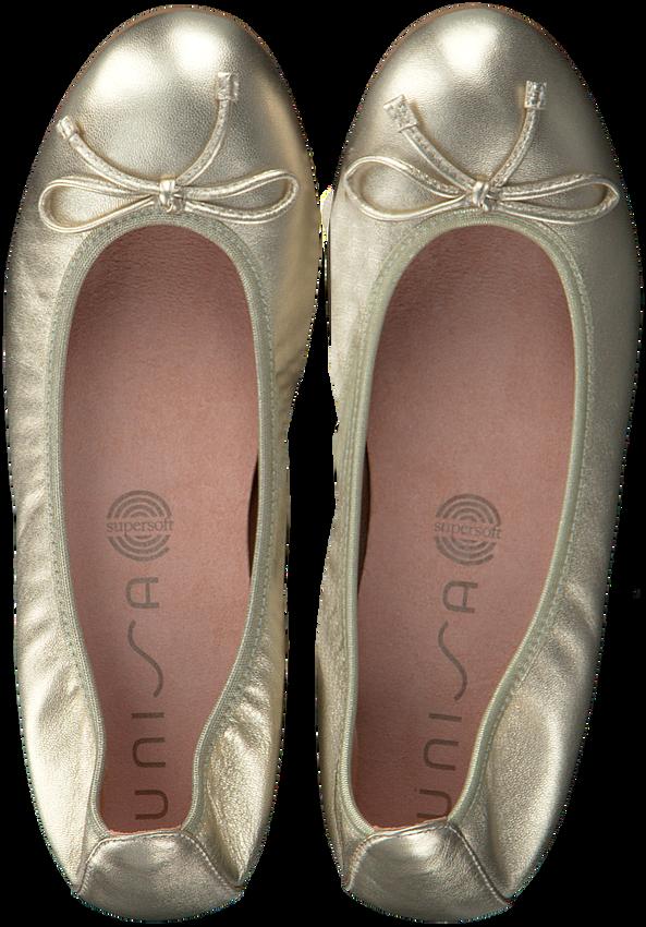 Gouden UNISA Ballerina's ACOR  - larger