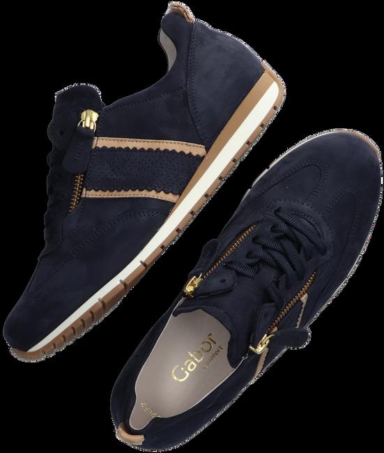 Blauwe GABOR Lage sneakers 338  - large