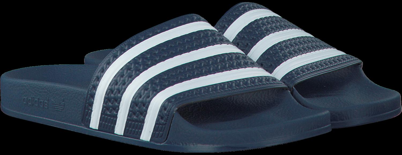 Blauwe ADIDAS Slippers ADILETTE MEN | Omoda