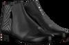 Zwarte HASSIA Enkellaarsjes 0989  - small