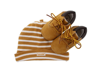 Camel TIMBERLAND Babyschoenen CRIB BOOTIE W/HAT  - medium