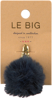 Blauwe LE BIG Haarband PETULA HAIRCLIP  - medium
