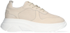 Beige RED-RAG Lage sneakers 71178  - small