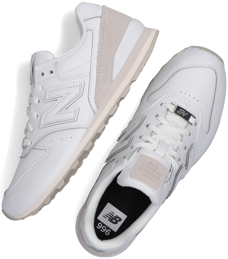 Witte NEW BALANCE Lage sneakers WL996  - larger