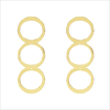 Gouden MY JEWELLERY Oorbellen CIRCLES EARRINGS  - small