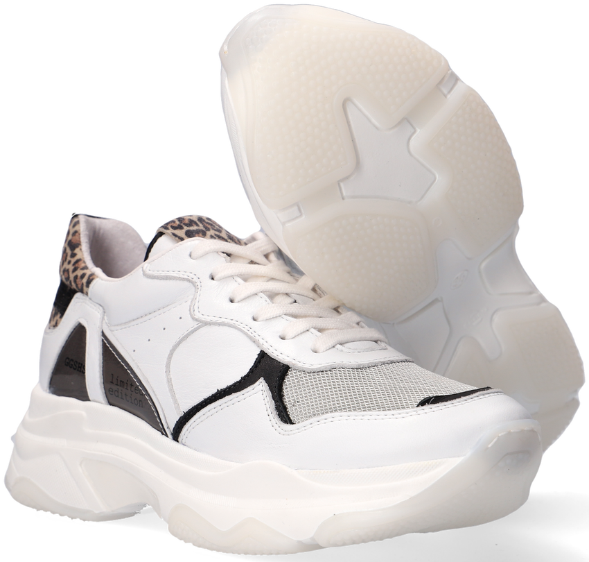 Witte GIGA Lage sneakers G3666  - larger