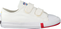 Witte CONVERSE Lage sneakers CHUCK TAYLOR ALL STAR 2V OX KIDS - medium