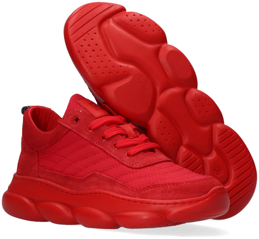 Rode RED-RAG Lage sneakers 13483  - larger