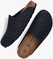 Blauwe BIRKENSTOCK Pantoffels AMSTERDAM DAMES  - medium