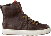 Bruine VINGINO Sneakers STYN HIGH  - medium