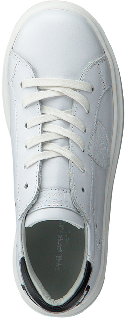 Witte PHILIPPE MODEL Sneakers GRANVILLE PMP VEAU  - large