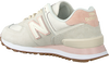Witte NEW BALANCE Lage sneakers WL574  - small