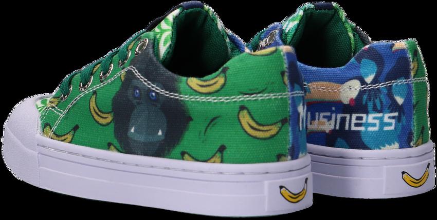 Groene GO BANANAS Lage sneakers GB_MONKEY-L  - larger
