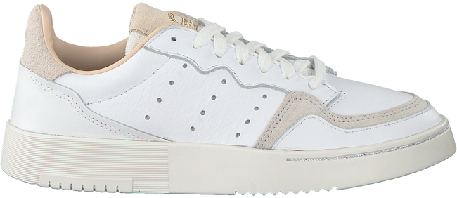 Witte ADIDAS Sneakers SUPERCOURT J  - large