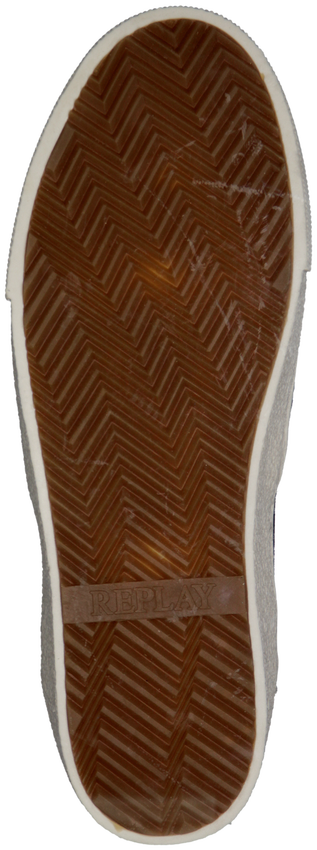 Zwarte REPLAY Slip-on sneakers  TRIO  - larger