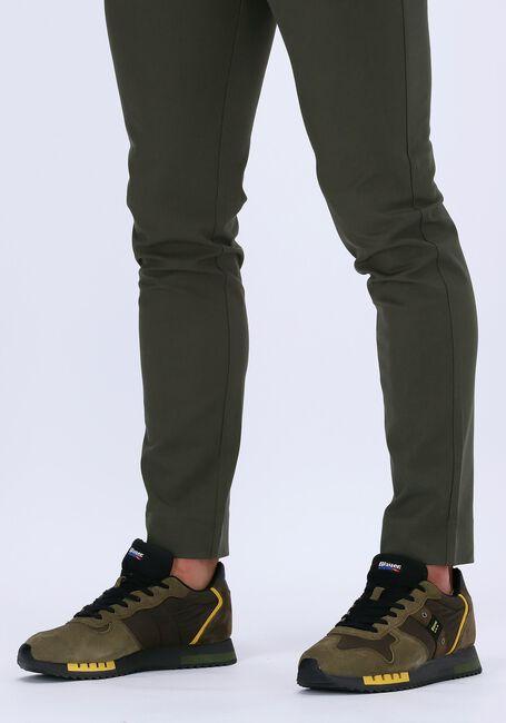 Groene BLAUER Lage sneakers QUEENS01  - large