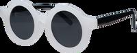 Witte LITTLE INDIANS Zonnebril SUNGLASSES  - medium