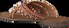 Bruine LAZAMANI Slippers 75.526 - small