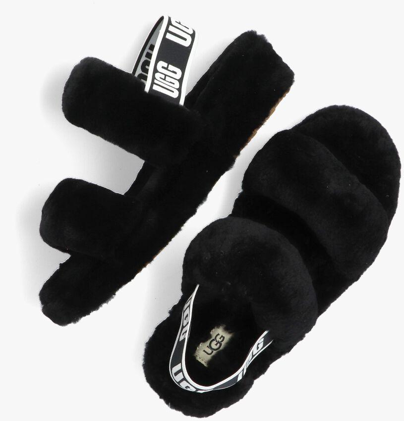 Zwarte UGG Pantoffels W OH YEAH  - larger