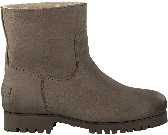 Taupe SHABBIES Enkelboots 181020073  - large