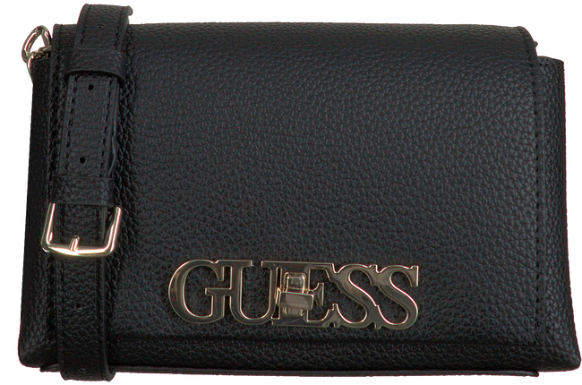 Zwarte GUESS Schoudertas UPTOWN CHIC MINI XBODY  - large