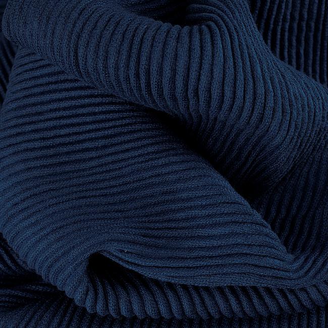 Blauwe ROMANO SHAWLS AMSTERDAM Sjaal SHAWL CRUSHED POLY - large