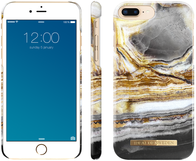Gouden IDEAL OF SWEDEN Telefoonhoesje CASE IPHONE 8/7/6/6S PLUS - large