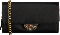 Zwarte VALENTINO HANDBAGS Portemonnee FALCOR WALLET SHOULDERSTRAP - medium