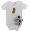 Witte SHOESME Babyschoenen ROMPER  - small