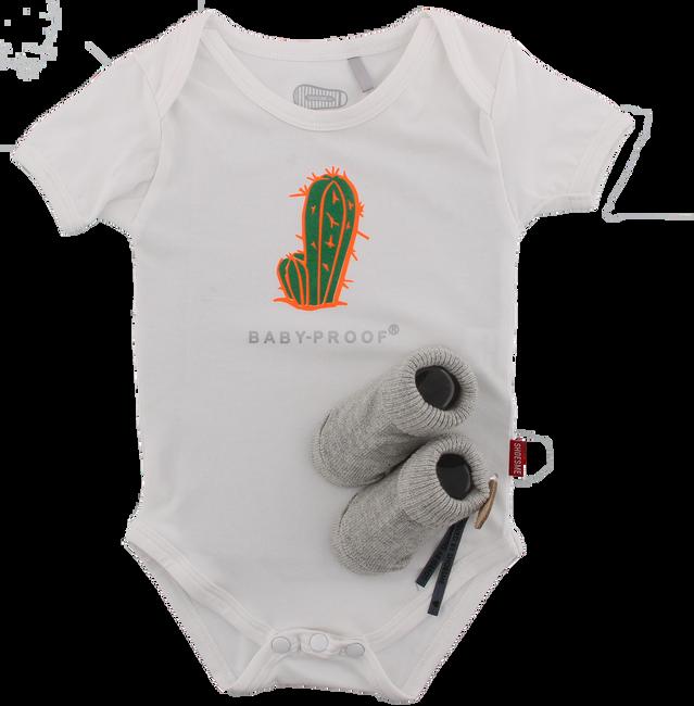 Witte SHOESME Babyschoenen ROMPER  - large