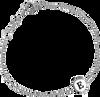 Grijze ATLITW STUDIO Armband CHARACTER BRACELET LETTER SILV - small