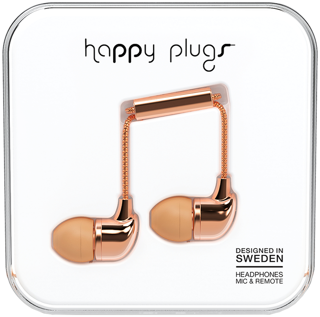 Roze HAPPY PLUGS Overig IN-EAR - large