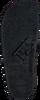 Zwarte THE WHITE BRAND Slippers ELASTIC MINIMAL  - small