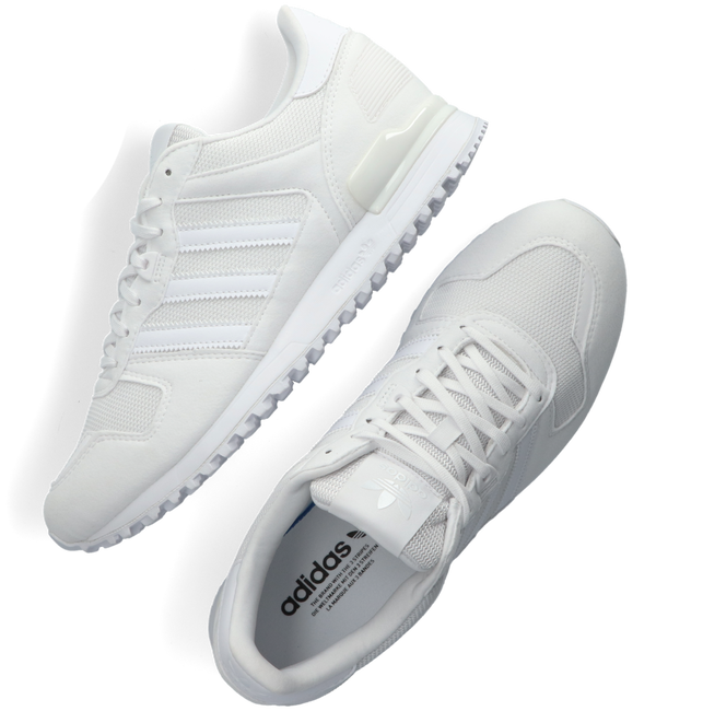 Witte ADIDAS Lage sneakers ZX 700  - large