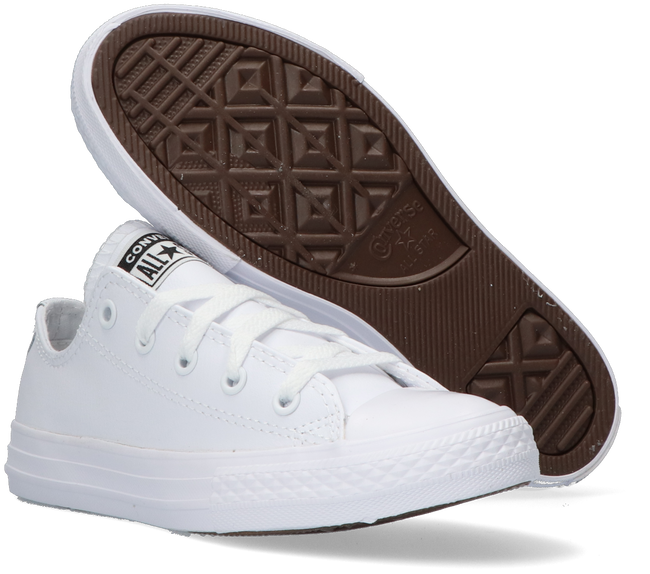 Witte CONVERSE Lage sneakers CHUCK TAYLOR ALL STAR OX  - large