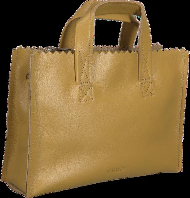 Gele MYOMY Handtas MY PAPER BAG HANDBAGCROSSBODY  - large