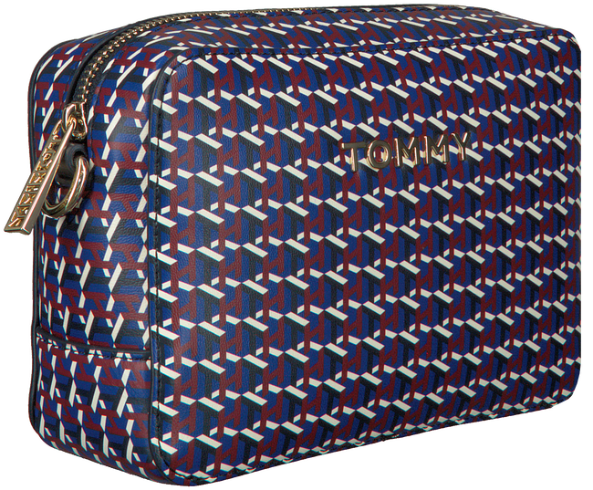 Grijze TOMMY HILFIGER Schoudertas ICONIC TOMMY CROSSOVER  - large